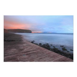 Santa Barbara beach Photograph