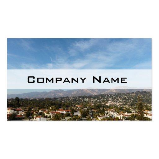 Santa Barbara Business Card Templates