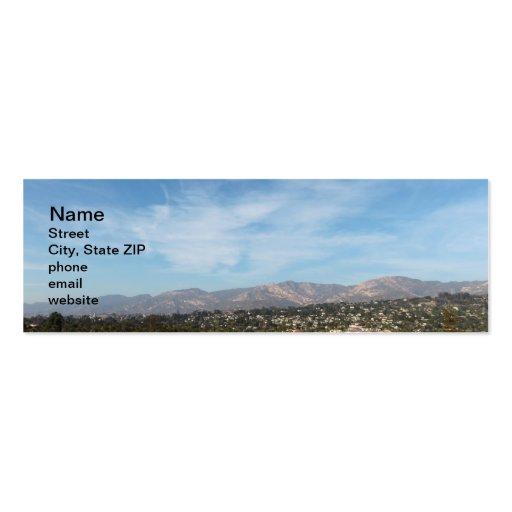 Santa Barbara Business Card Template