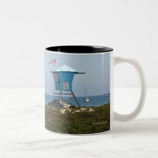 Santa Barbara, California 3 Two-Tone Coffee Mug