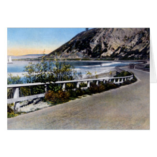 Santa Barbara California Coast Highway 1930 Card