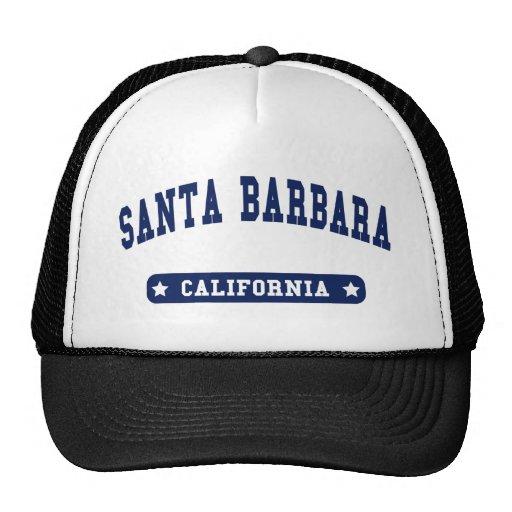 Santa Barbara California College Style tee shirts Hat