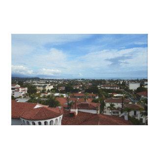 Santa Barbara California Landscape Photo Canvas Canvas Print