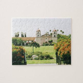 Santa Barbara California mission puzzle