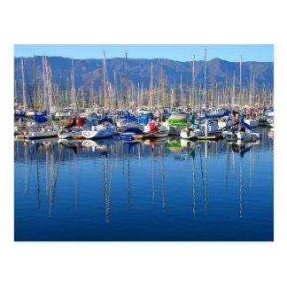 Santa Barbara Harbor Postcard