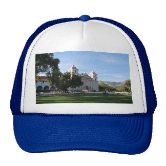 Santa Barbara Mission, California Mesh Hats