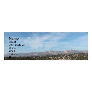 Santa Barbara Pack Of Skinny Business Cards