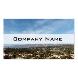 Santa Barbara Pack Of Standard Business Cards