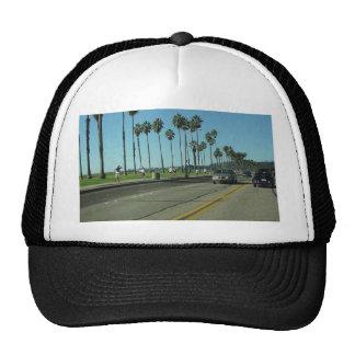 Santa Barbara Palmtrees Road Mesh Hats