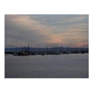 Santa Barbara Pier Postcard