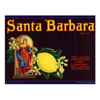 Santa Barbara Postcard
