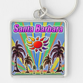 Santa Barbara Summer Love Keychain