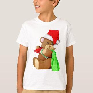 Santa Bear Delivering Goodies T-shirts
