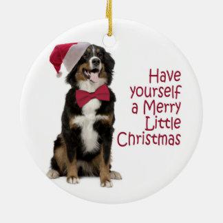 Santa Berner Christmas Ornament