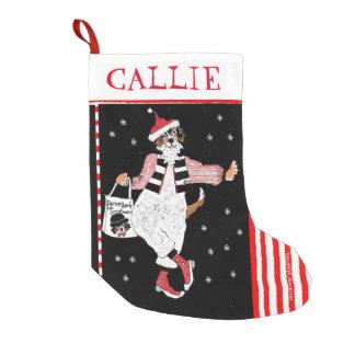 Santa Berner Custom Small Christmas Stocking