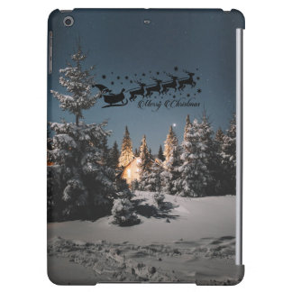 Santa bless you this Christmas Happiness love joy Case For iPad Air