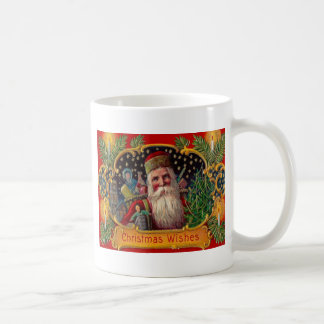 Santa Bringing Presents Coffee Mug