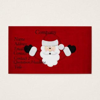 Santa Calendar 2012 Business Card