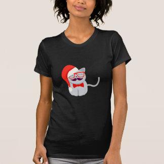 Santa Cat Tshirts