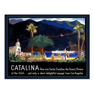 Santa Catalina California Postcard