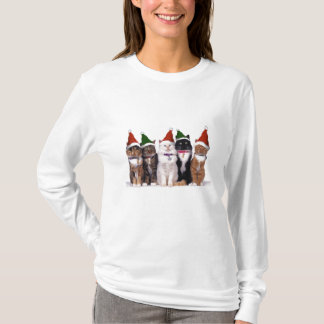 Santa Cats T-Shirt