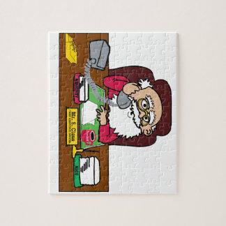 Santa CEO Jigsaw Puzzle