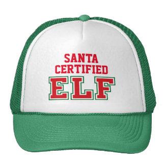 Santa Certified Elf Cap