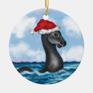 Santa Champ Ornament