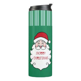 Santa Christmas Coffee Mug Thermal Tumbler Gift