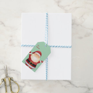 Santa Christmas Gift Tags- Holiday Gift
