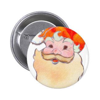 Santa Claus 2014 Pinback Buttons