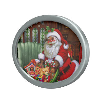 Santa Claus 2 Belt Buckle