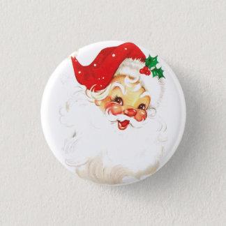 Santa Claus 3 Cm Round Badge