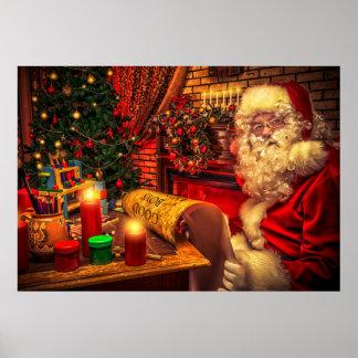 Santa Claus 4 Posters