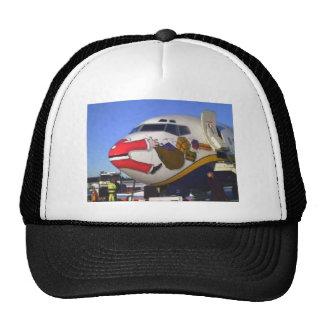 SANTA CLAUS AIRLINER MID-AIR CAP
