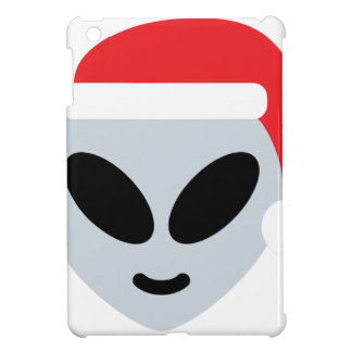 santa claus alien emoji iPad mini cases