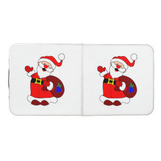 Santa Claus and gift bag clipart Beer Pong Table