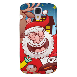 Santa Claus and his team are ready for Christmas Samsung Galaxy S4 Cover