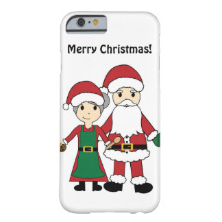 Santa Claus and Mrs Clause iPhone 6 Case