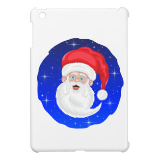 Santa Claus and Stars iPad Mini Covers
