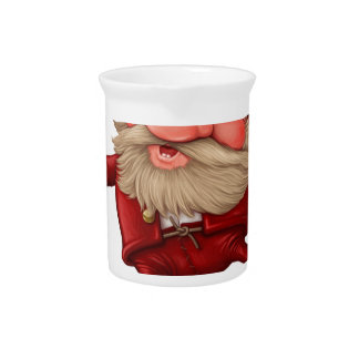 Santa claus and the bell's dancing pitcher