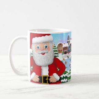Santa Claus at North Pole Mug