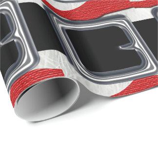 Santa Claus Belt Christmas Holiday Design Xmas Gift Wrap