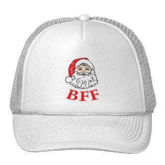 Santa Claus BFF Bestie! Hats