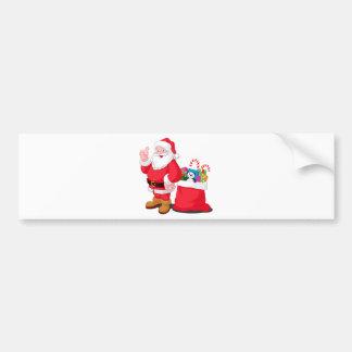 Santa Claus Bumper Stickers