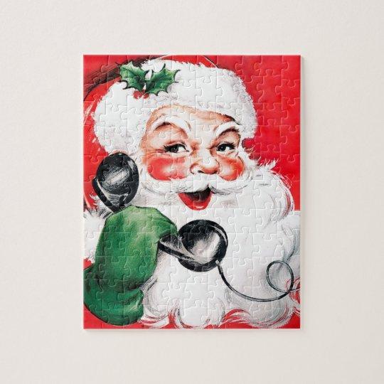 Santa Claus Calling Jigsaw Puzzle