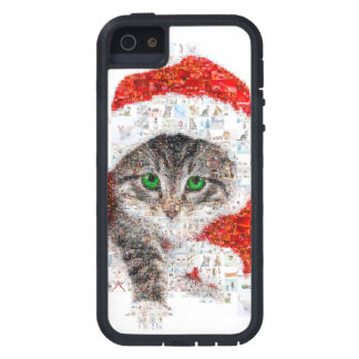 santa claus cat - cat collage - kitty - cat love iPhone 5 covers