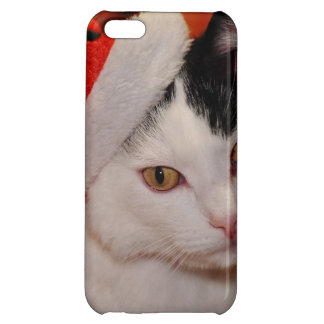 Santa claus cat - merry christmas - pet cat cover for iPhone 5C