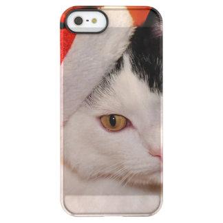 Santa claus cat - merry christmas - pet cat permafrost® iPhone SE/5/5s case
