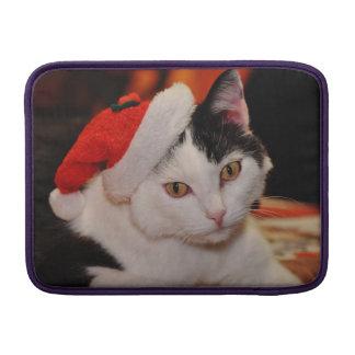 Santa claus cat - merry christmas - pet cat sleeve for MacBook air